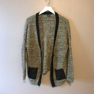 Sparkle & Fade Woven Cardigan Size XS